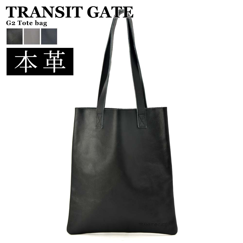 bf7d7d0ee5b3e Genuine leather tote bag brand TransitGate leather length type men adult  small shark cowhide black black ...
