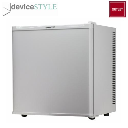 【アウトレット】デバイスタイル deviceSTYLEペルチェ式電子冷蔵庫容量20LRA-P20-W1ドア冷蔵庫右開きコンパクトホワイト【送料無料】
