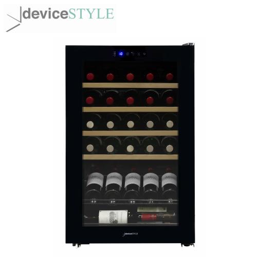 デバイスタイル deviceSTYLEコンプレッサー式ワインセラー 30本収納用CD-30W家庭用 小型 コンパクトタイプブラック【送料無料】