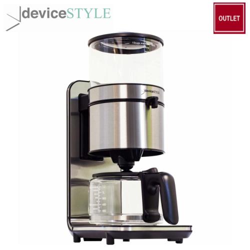 【アウトレット】デバイスタイル deviceSTYLEブルーノパッソ BrunopassoコーヒーメーカーPCA-10X【送料無料】
