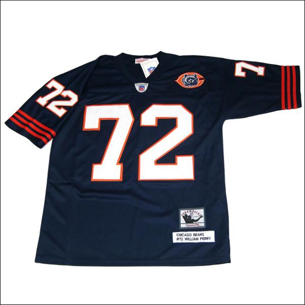 【全2色】CHICAGO BEARS replica フットボールシャツ/ #72【WILLIAM PERRY】メンズ 大きいサイズ 小さいサイズ メンズ大きいサイズ ゲームシャツ ダンス 衣装 ダンス衣装 hiphop ヒップホップ
