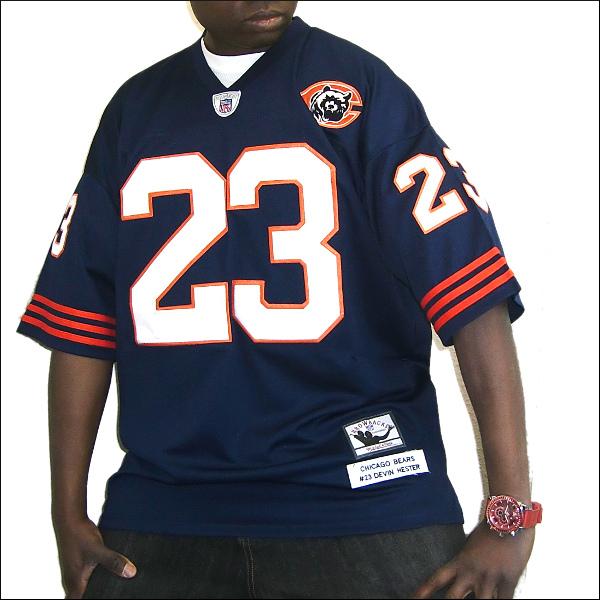 【あす楽】【送料無料】CHICAGO BEARS (チカゴベアース) replica  フットボールシャツ #23【DEVIN HESTER】フットボールジャージ ゲームシャツ 大きいサイズ メンズ メンズ大きいTシャツ ヒップホップ衣装 ダンス 衣装 ジャージ