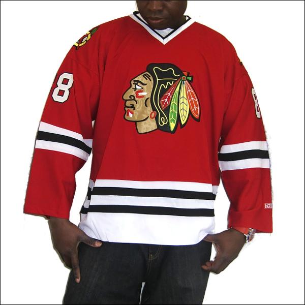 【全2色】CHICAGO BLACK HAWKS replica  アイスホッケーシャツ #88【KANE】アイスホッケー ゲームシャツ 大きいサイズメンズ メンズ大きいTシャツ ヒップホップ衣装 ダンス 衣装 ジャージ