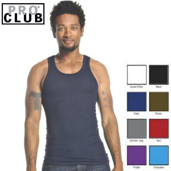 PRO CLUB 評判 pro club プロクラブ 無地Aシャツ プロクラブタンクトップ 大きいサイズメンズ proclub SIZE:S~XL ばら売り バラ売り 公式サイト Shirt リブ編みタンクトップ Athletics 大きいメンズ無地タンクトップ 全8色 1枚のみ Men's 大きいサイズAシャツ PROCLUB あす楽 メンズ無地Aシャツ S~XL