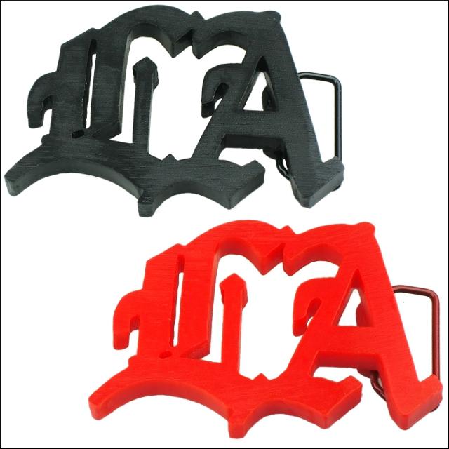 メール便可 全2色 LA Plastic Logo 新生活 バックル ロゴ プラステイク 注目ブランド Buckle