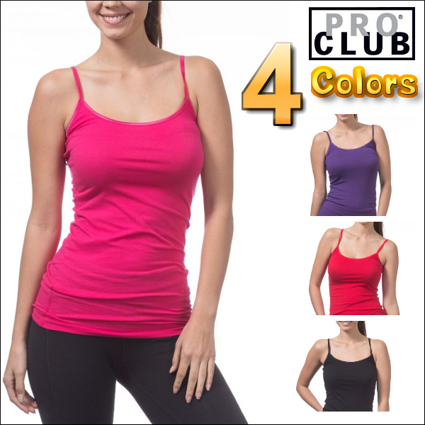 ed92ca996e0b42 The lady s plain tank top which the size camisole which PRO CLUB  (professional club) WOMEN S SPAGHETTI TANK TOP Lady s camisole tank top  (one piece of ...
