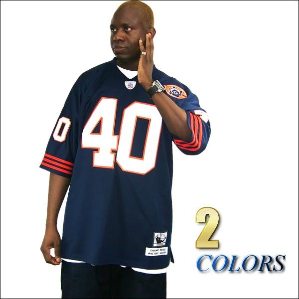 【あす楽】【送料無料】【全2色】CHICAGO BEARS replica  フットボールシャツ/ #40【GALE SAYERS】大きいサイズ メンズ 小さいサイズ メンズ大きいサイズ ゲームシャツ ダンス 衣装 ダンス衣装 hiphop ヒップホップ