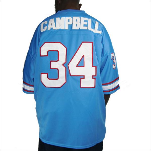 【あす楽】【送料無料】HOUSTON OILERS replica フットボールシャツ/ #34【EARL CAMPBELL】大きいサイズ メンズ 小さいサイズ メンズ大きいサイズ ゲームシャツ ダンス 衣装 ダンス衣装 hiphop ヒップホップ