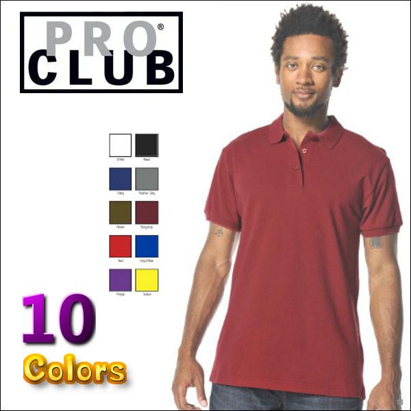 pro club プロクラブ PROCLUB M~XL 高級 2XL~5XL 7XL~10XL もあります 半袖ポロ無地 プレーン 半袖 ポロシャツメンズ 無地ポロ ポロシャツ プロクラブポロ PIQUE メンズ無地ポロ プロクラブポロシャツ あす楽 SHIRT POLO PRO プレゼント 全10色 大きいサイズメンズ 121 大きいポロシャツ CLUB
