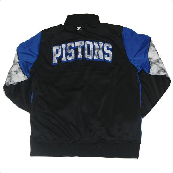 ZIPWAY DETROIT PISTONS NBA WARM UP JACKET(バックス)ウィンドブレーカー ジャケット ナイロン ジャケット ジャケットウオームアップ ジャケットジャンパー nba バスケットボール ユニホーム メンズ 大きいサイズ ジャージ LL 2L 3L 4L 5L