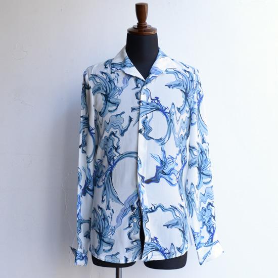 【Nobuyuki Matsui 】 ノブユキマツイ イタリアンカラーシャツ ホワイト