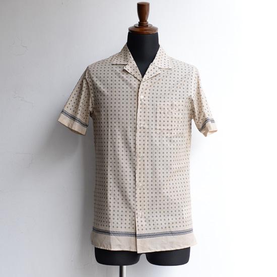 【Officine Generale】オフィシンジェネラル オープンカラーショートスリーブシャツ