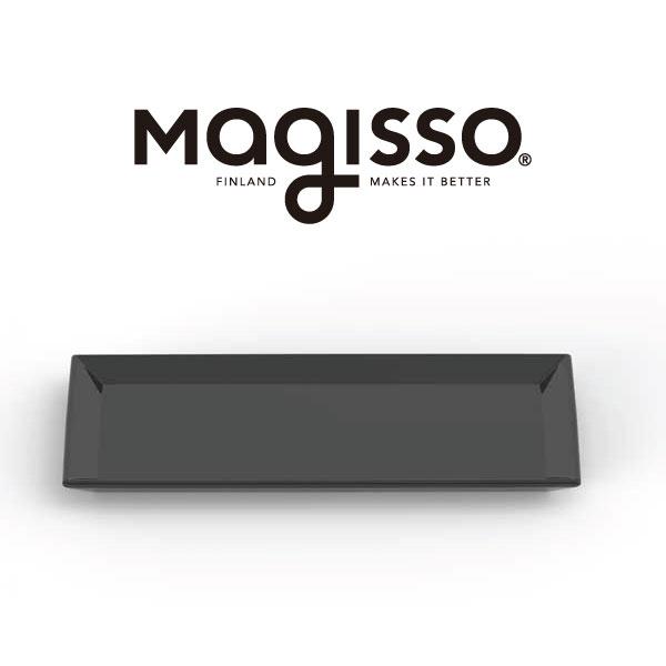 magisso サービングプレート 28×14cm 70622 ブラック クーリングセラミックスサーブウェア 保冷 食器 おしゃれ ギフト プレゼント|