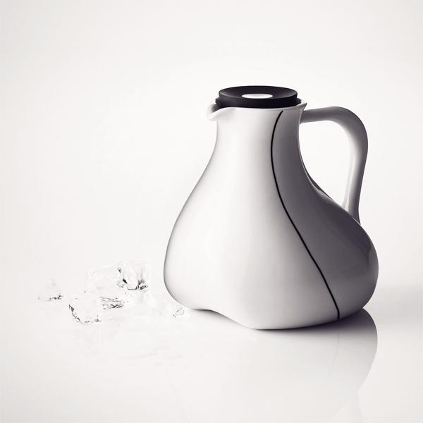 菜单黑色轮廓黑色计数器投手 4503039 餐厅 / 厨房小工具和水的水罐