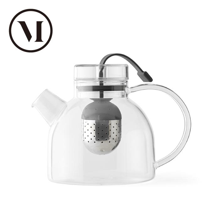 MENU Kettle Teapot ケトルティーポット0.75L ガラス ティーエッグストレーナー付き 4545119 Dining/キッチン雑貨/お茶・紅茶