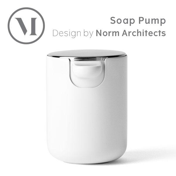 MENU Soap Pump ソープディスペンサー ホワイト 7700619 Bath バス用品 浴室 洗面 石鹸 ハンドソープ|◯