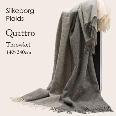 Silkeborg Plaids シルケボープレード スローケット クワトロ 140cm×240cm 100123