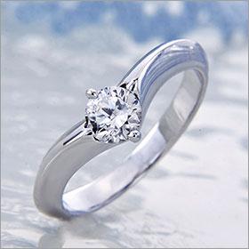 婚約指輪 エンゲージリング!  卸直営!ダイヤモンド 0.311ct  Gカラー SI2 EXCELLENT  プラチナ(Pt900)鑑定書付き ラウンドブリリアント ソリティア 立て爪