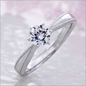 婚約指輪 エンゲージリング! 卸直営!ダイヤモンド 0.312ct Dカラー VS2 プラチナ(Pt900)鑑定書付き ラウンドブリリアント ソリティア 立て爪