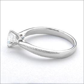 婚約指輪 エンゲージリング!  卸直営!ダイヤモンド 0.345ct  Dカラー IF EXCELLENT H&C 3EX   プラチナ(Pt900)鑑定書付き ラウンドブリリアント ソリティア 立て爪