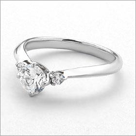 婚約指輪 エンゲージリング卸直営 ダイヤモンド 0 204ctFカラー VVS1 EXCELLENT H C 3EXプラチナ Pt900 鑑定書付き ラウンドブリリアント メレ 立て爪2WHID9E