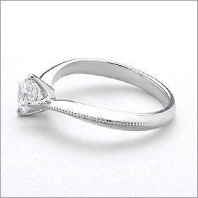 婚約指輪 エンゲージリング卸直営 ダイヤモンド 0 255ctFカラー VVS1 EXCELLENT H C 3EXプラチナ Pt900 鑑定書付き ラウンドブリリアント ソリティア 立て爪b7gf6y