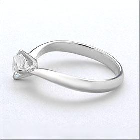 婚約指輪 エンゲージリング!  卸直営!ダイヤモンド 0.205ct  Dカラー SI2 EXCELLENT H&C 3EX   プラチナ(Pt900)鑑定書付き ラウンドブリリアント ソリティア 立て爪