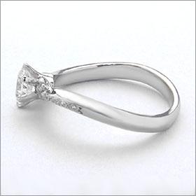 婚約指輪 エンゲージリング卸直営 ダイヤモンド 0 259ctFカラー VVS1 EXCELLENT H C 3EXプラチナ Pt900 鑑定書付き ラウンドブリリアント メレ 立て爪pSVUzGqM