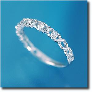 リング ダイヤモンド K18WG(ホワイトゴールド) k18/18金【送料無料】 10P03Dec16