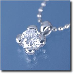 ペンダントネックレスダイヤモンド 約0.20ctPt900/Pt850(プラチナ) (プチネックレス)【送料無料】 10P03Dec16