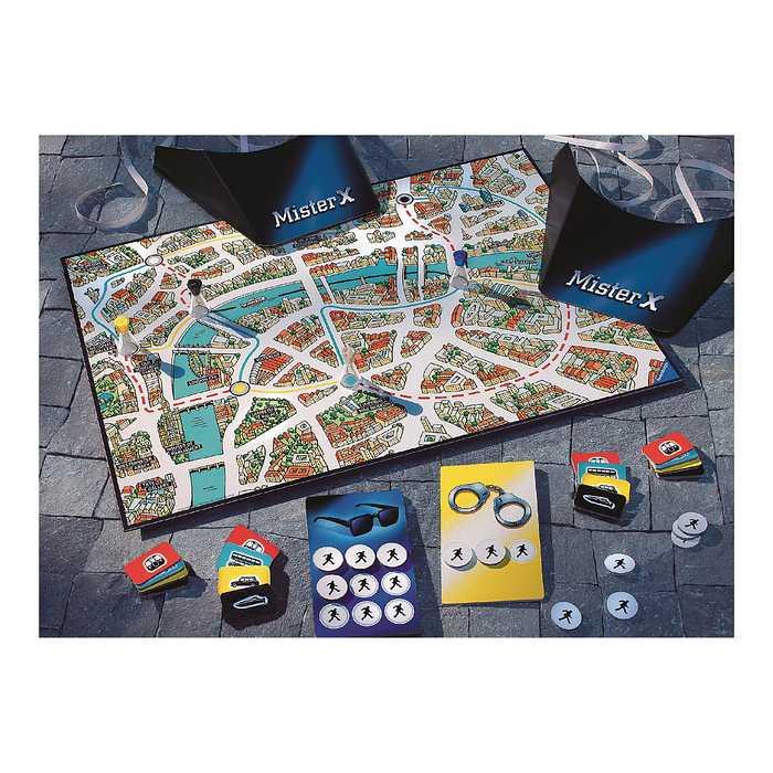 ヤード スコットランド 【レビュー/スコットランドヤード東京】『逃げる犯人・追う警察』を盤上で演じるボードゲーム