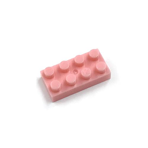 世界最小級 ブロック 輸入 ナノブロック nanoblock単色部品 海外並行輸入正規品 2×4 30入り ピンク