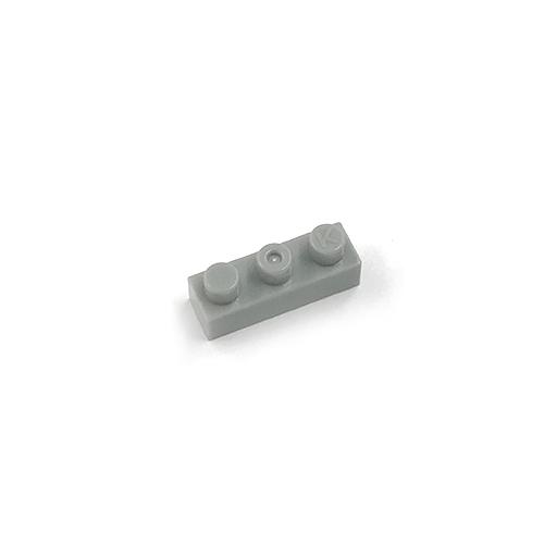 世界最小級 限定価格セール ブロック ナノブロック 商品 nanoblock単色部品 40入り グレー 1×3