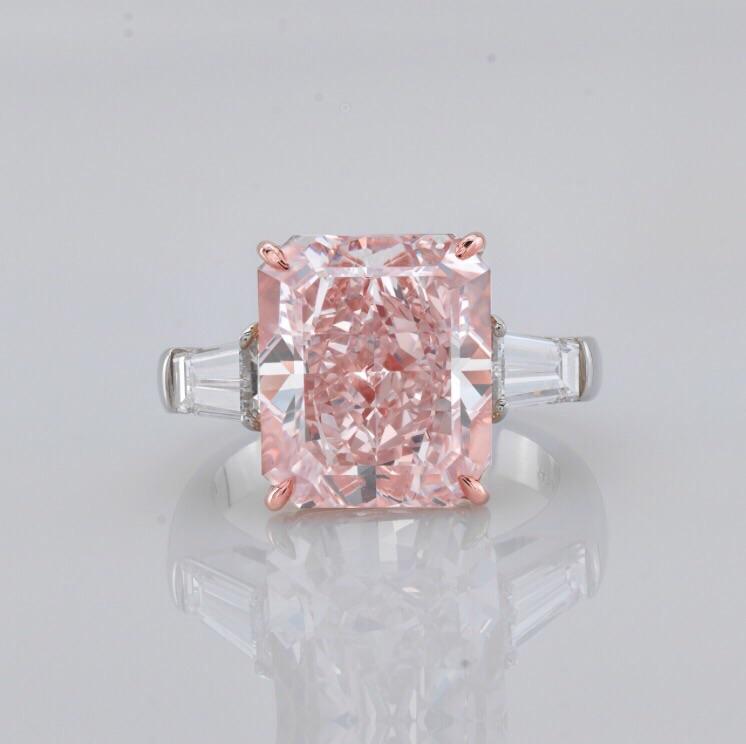 夢のピンクダイヤリング!10カラットファンシーピンクダイヤリングVS2海外在庫10億2千万円です。システム上値段が入らず値段お問合せください。