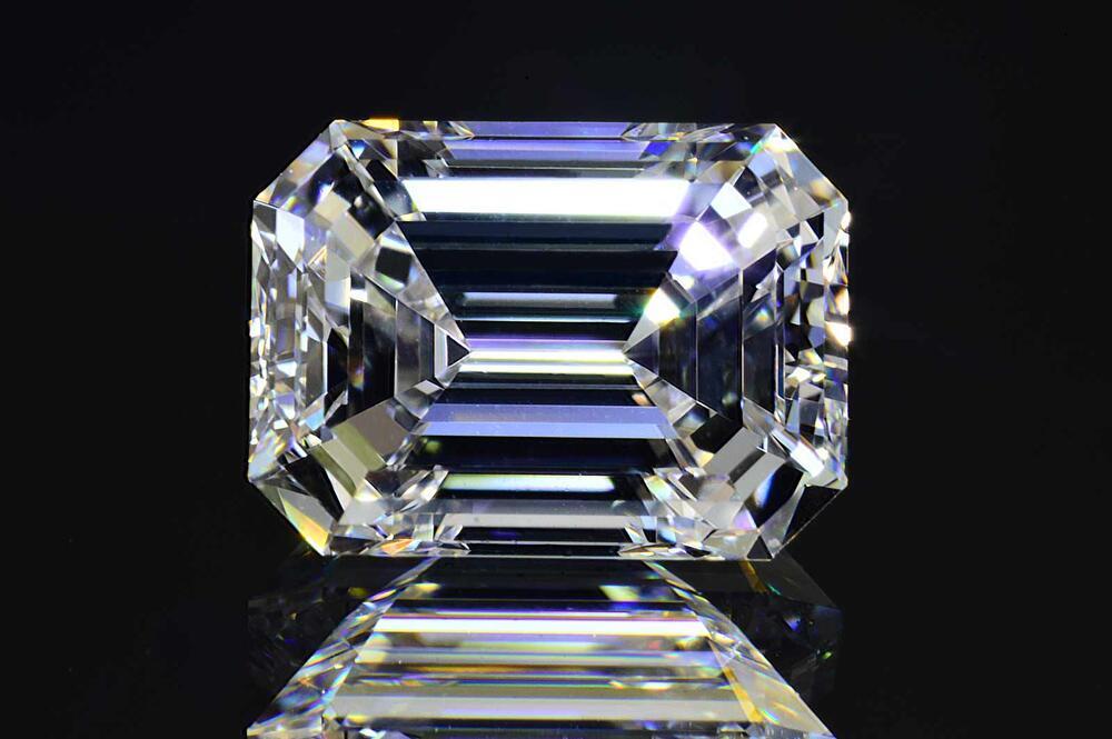 0.7カラットエメラルドカットダイヤモンドルースFカラーIFインターナリーフローレス品質少し四角な可愛いエメラルドカットダイヤGIA鑑定書刻印つき 豊富な,正規品