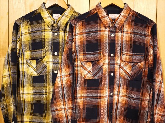 TROPHY CLOTHING トロフィークロージング LOGGER INDIGO CHECK SHIRTS チェックシャツ