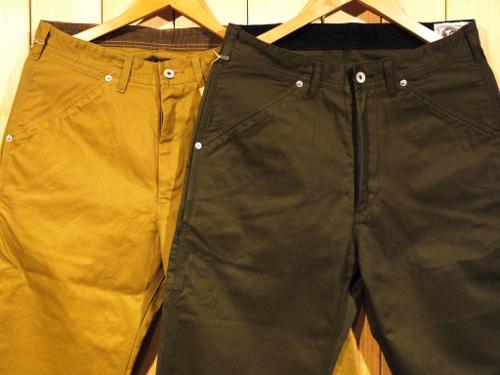 TROPHY CLOTHING トロフィークロージング GAS WORKER PANTS ペインターパンツ