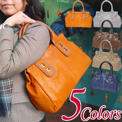 b0bcef9ca5f6 innue イヌエ (all three colors) | made in Boston model handbag genuine leather  leather & shiny coating suede Italy Boston bag Boston fashion Caron ...