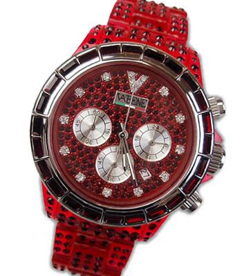 VABENE ヴァベーネ イタリア腕時計VA BENEラインストーンフェイス <クロノグラフ>