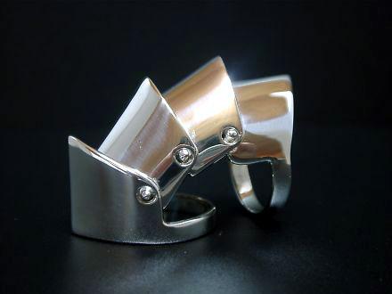 ◆アーマーリング(バルド)シルバーリング!なぜか一番ハードだ!シルバーアクセサリー メンズ レディース