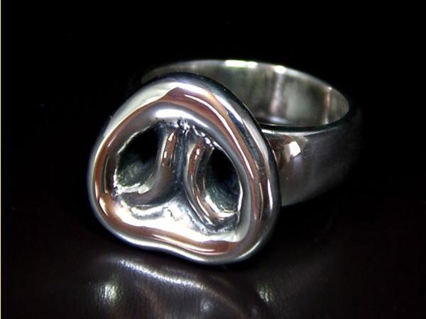Pig nose ring 豚鼻指輪シルバーリング  シルバーアクセサリー メンズ レディース