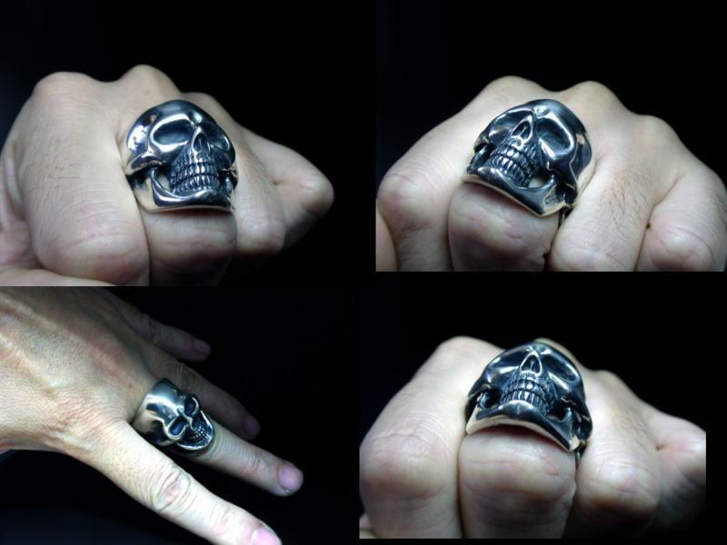◆ 骷髅戒指、 骨架和头骨金银珠宝 / 男子 / 妇女的翻译和货物收据到投入国内) 销售销售报告视图最受欢迎的 20%关闭