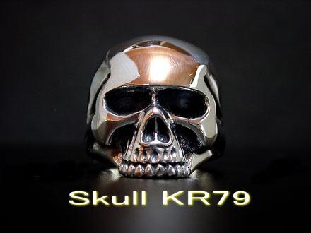 ◆キースリング完全復活!【シルバーアクセサリー/スカルリング/メンズ/レディース】 ◆【Large Type】 Keith Skull Ring キーススカルリングシルバーアクセサリー シルバーリング メンズ レディース