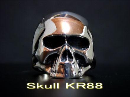 ◆【Medium Type】 Keith Skull Ring キーススカルリング シルバーアクセサリーシルバーリング メンズ レディース