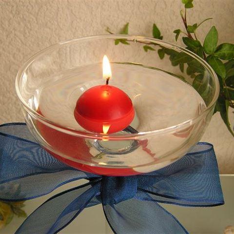 クリスマス キャンドル 結婚式 無香料 大注目 インテリア ろうそく 再再販 キャンドルナイト 1個 Floating フローティングボールキャンドル Candle Ball クリスマスレッド