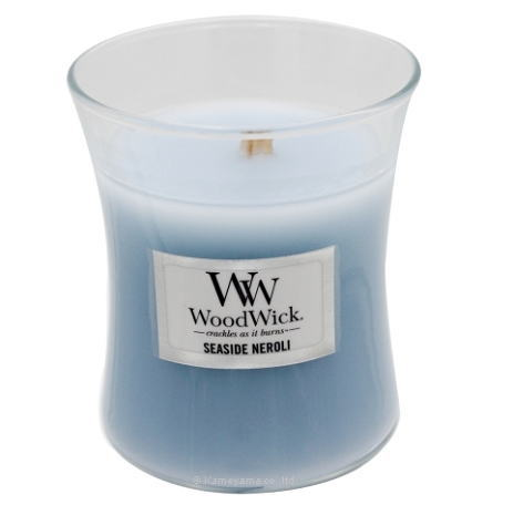 キャンドル ガラス アロマ ウッドウィック 癒し 暖炉 ろうそく ジャーキャンドルSシーサイドネロリグラスキャンドル Jar 超特価SALE開催 WoodWick セール特別価格 フレグランス 木の芯キャンドル S
