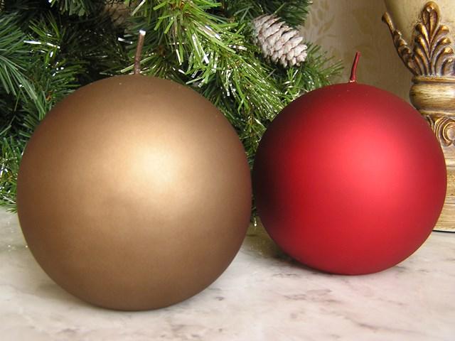 SEAL限定商品 セール キャンドル オンライン限定商品 クリスマス ベルベットコレクションスタイリッシュなデザインキャンドル ボールキャンドル10 マットクラシック