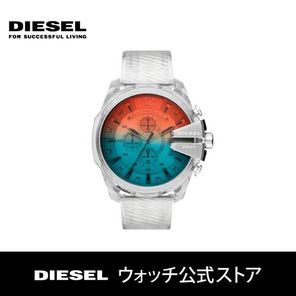 【スーパーセール期間限定!ポイント14倍!】2019 秋の新作 ディーゼル 腕時計 メンズ DIESEL 時計 DZ4515 メガチーフ MEGA CHIEF 51mm 公式 2年 保証