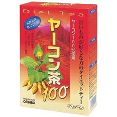 ヤーコン茶100 オリヒロ 10個セット