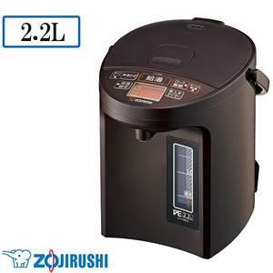 象印 マイコン沸とう VE電気まほうびん 優湯生(ゆうとうせい) TA(ブラウン) 2.2L CV-GB22-TA